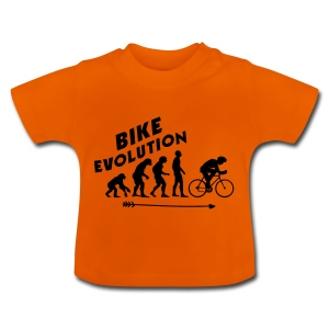 Bike Evolution (BLACK) - Baby T-Shirt