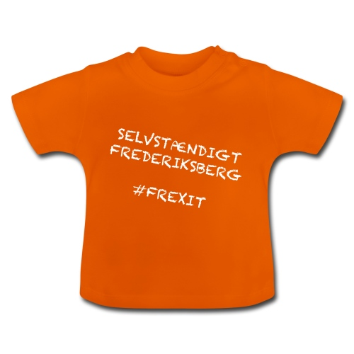 Selvstændigt Frederiksberg #FREXIT - Baby T-shirt