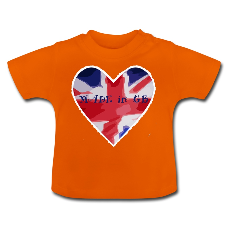 Made in GB - Baby T-Shirt