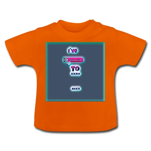 baby tshirt with ive subed to my channel - Baby T-Shirt