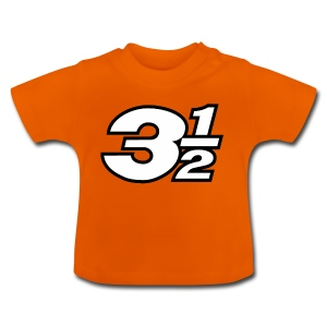 Three and a Half Logo - Baby T-Shirt