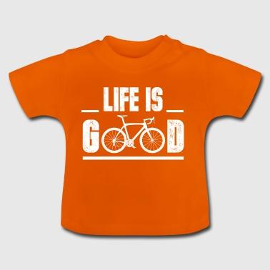 Fahrrad Bike Vater lustig Geschenk Weihnacht - Baby T-Shirt