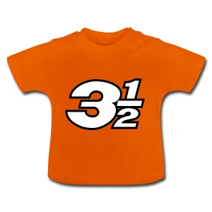 Three and a Half Logo - Baby T-Shirt