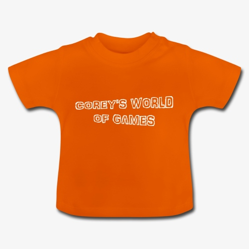 Coreys World Of Games - Baby T-Shirt