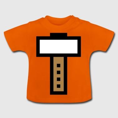 Hammer 8 bit / Gaming - Koszulka niemowlęca