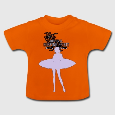 female surf - Baby T-Shirt