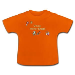Omas kleiner Engel - für Jungs - Baby T-Shirt