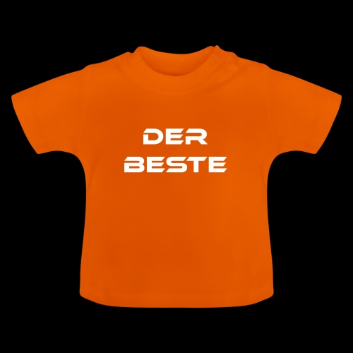 Der Beste weiss - Baby T-Shirt