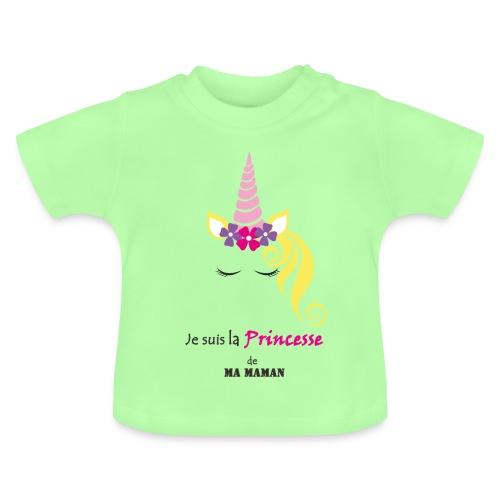 princesse de maman2 - T-shirt Bébé