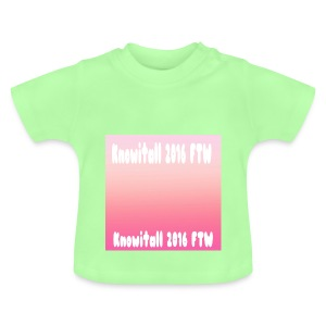Knowitall 2016 FTW Custom Design - Baby T-Shirt