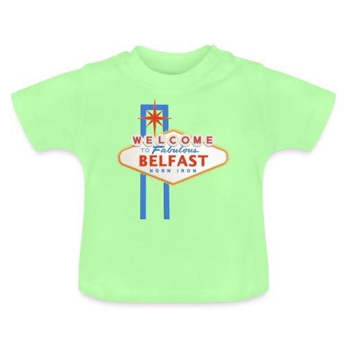 Belfast - Vegas sign - Baby T-Shirt