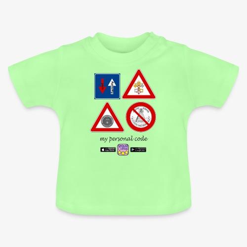 My personal code - Maglietta per neonato