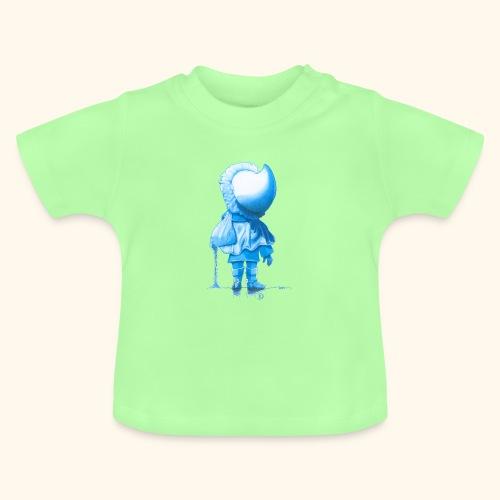 Unser Sandmännchen von hinten blau - Baby T-Shirt