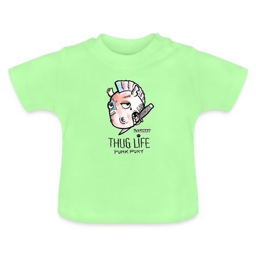 Stef 0004 00 Das Leben ist kein Ponyhof - Baby T-Shirt