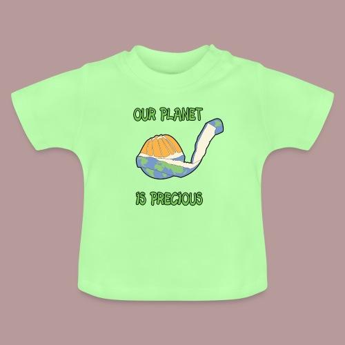 Our planet is precious - T-shirt Bébé