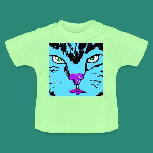 Der blaue Kater - Baby T-Shirt