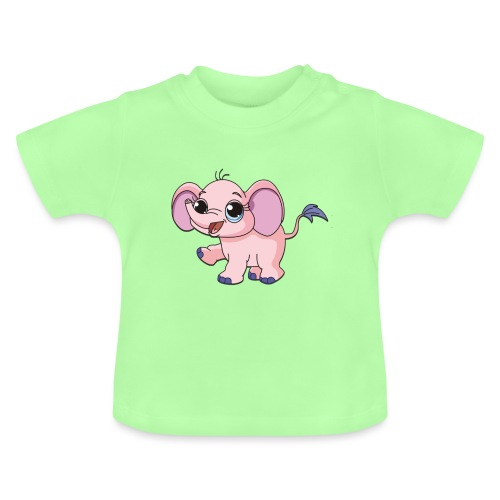 Cute elephant - Baby T-Shirt