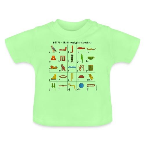 Ägyptisches Alphabet - Baby T-Shirt
