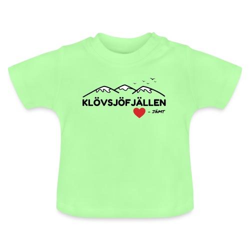 Klövsjöfjällen - Baby-T-shirt