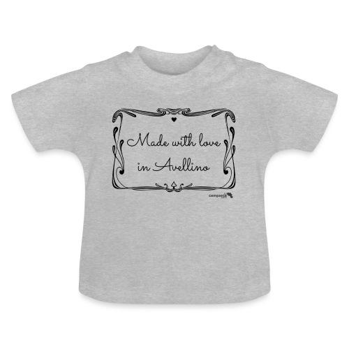 1.04 Fatto con amore ad Avellino - Maglietta per neonato