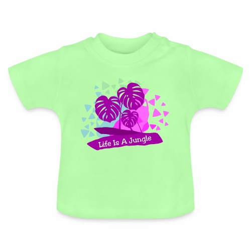 Life is a jungle - Baby T-Shirt