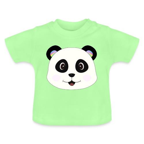 panda rainbow - Camiseta bebé
