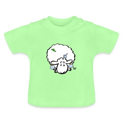 Weihnachtsbaumschaf - Baby T-Shirt