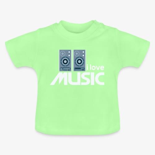 Amo la música 02 - Camiseta bebé