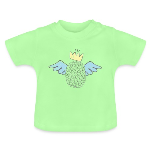 Piña con Alas - Camiseta bebé