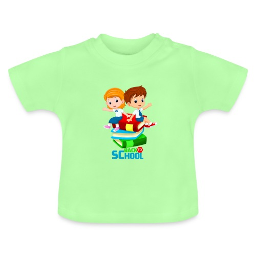 BACK to SCHOOL - T-shirt Bébé