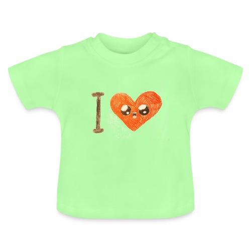 Kids for Kids: heart - Baby T-Shirt