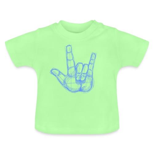 Sketchhand ILY - Baby T-Shirt