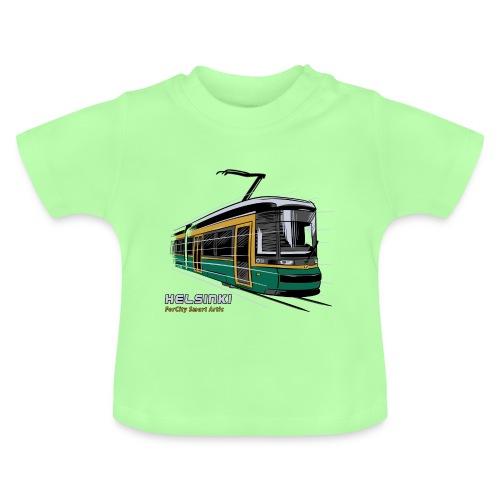 Helsingin Raitiovaunu T-paidat, 154 upeaa tuotetta - Vauvan t-paita