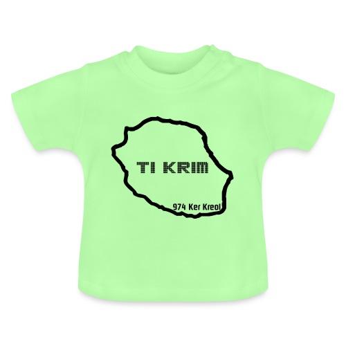 Ti krim - noir - T-shirt Bébé