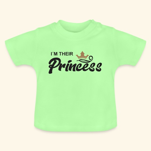im their princess - Camiseta bebé