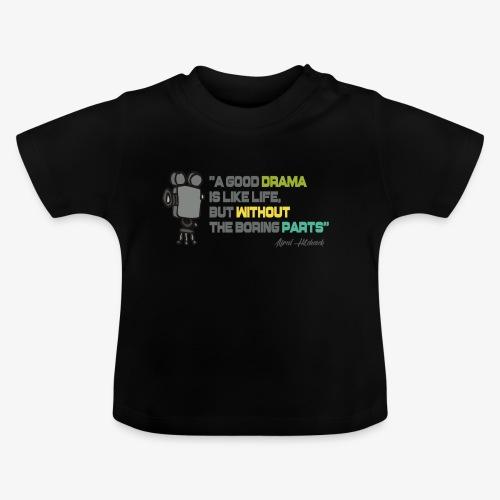 Pasión por el cine - Camiseta bebé