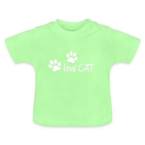 LOVE CAT - Baby T-Shirt