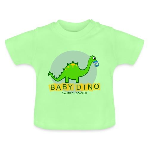 American Spanish Baby Dino - Camiseta bebé