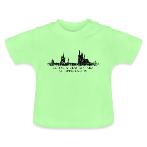 Colonia Claudia Ara Agrippinensium Köln Skyline - Baby T-Shirt