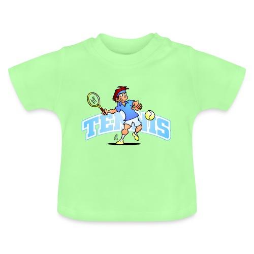 Tennis IV txt fc - Baby T-Shirt