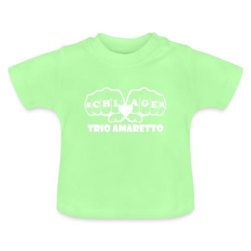 White Print Trio Amaretto - Baby T-Shirt