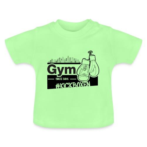 Gym in Druckfarbe schwarz - Baby T-Shirt