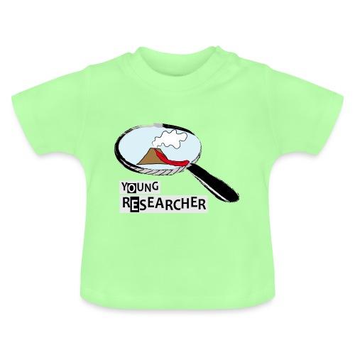Young Researcher Volcano Wissenschaft - Baby T-Shirt