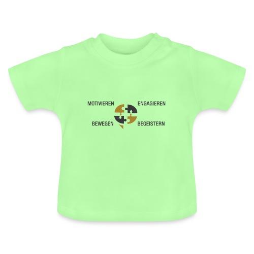 Ein Puzzel setzt sich zusammen - Baby T-Shirt