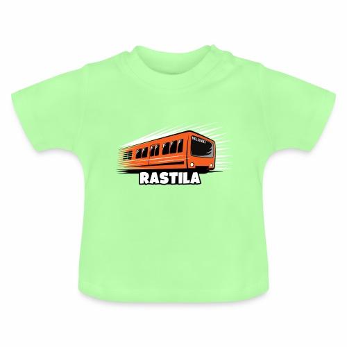 RASTILA Helsingin metro t-paidat, vaatteet, lahjat - Vauvan t-paita