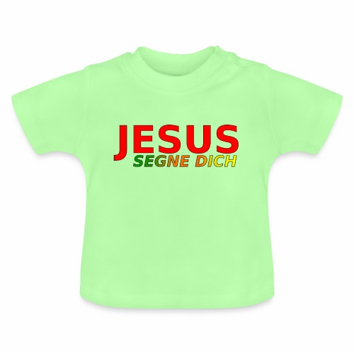 JESUS segne dich - bunt - Baby T-Shirt