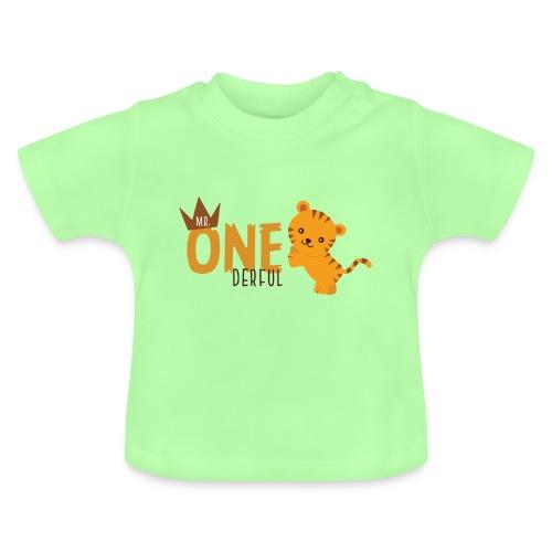 1.Geburtstag Mister ONEderful Krone - Baby T-Shirt