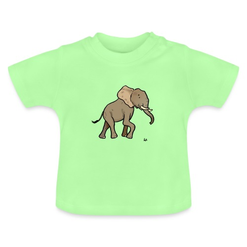 Afrikanischer Elefant - Baby T-Shirt