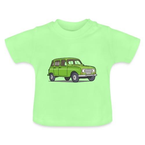 Grüner R4 (Auto) - Baby T-Shirt