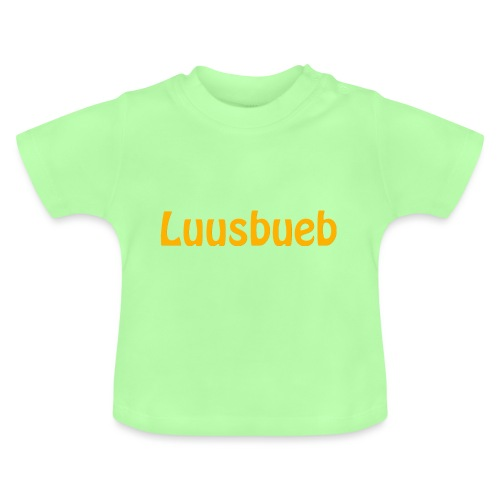 Luusbueb Schwiizertüütsch Mundart - Baby T-Shirt